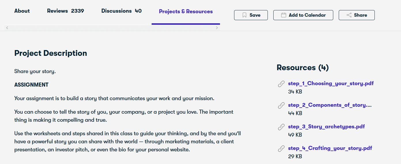 Skillshare-Projektdateien-Screenshot