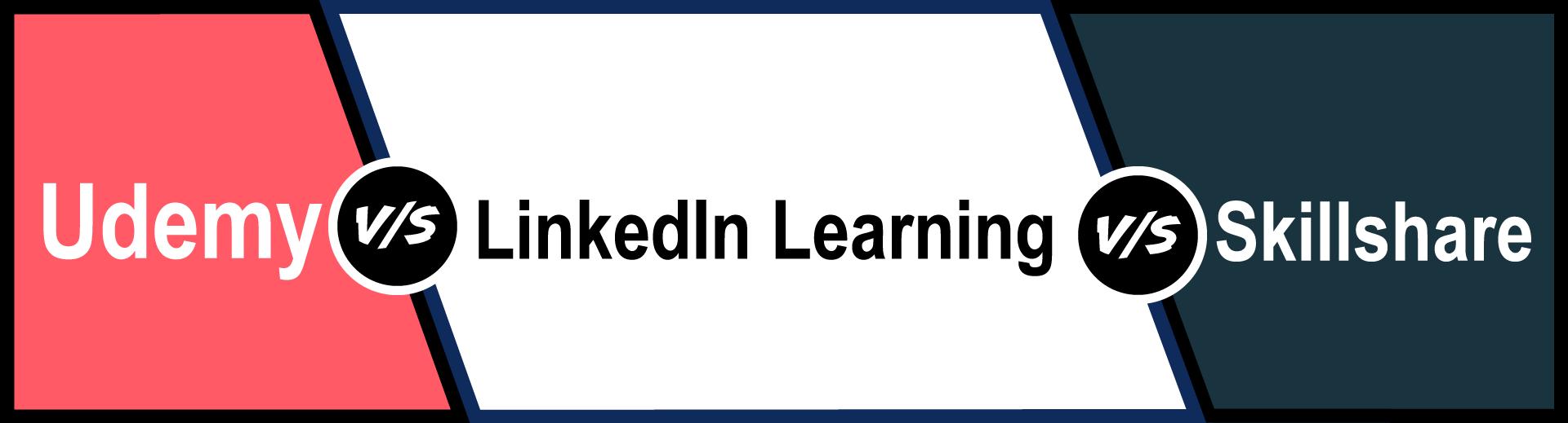 Udemy, Skillshare und LinkedIn Learning im Vergleich