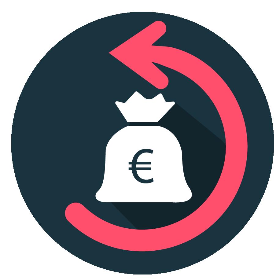 Geld zurück udemy Icon