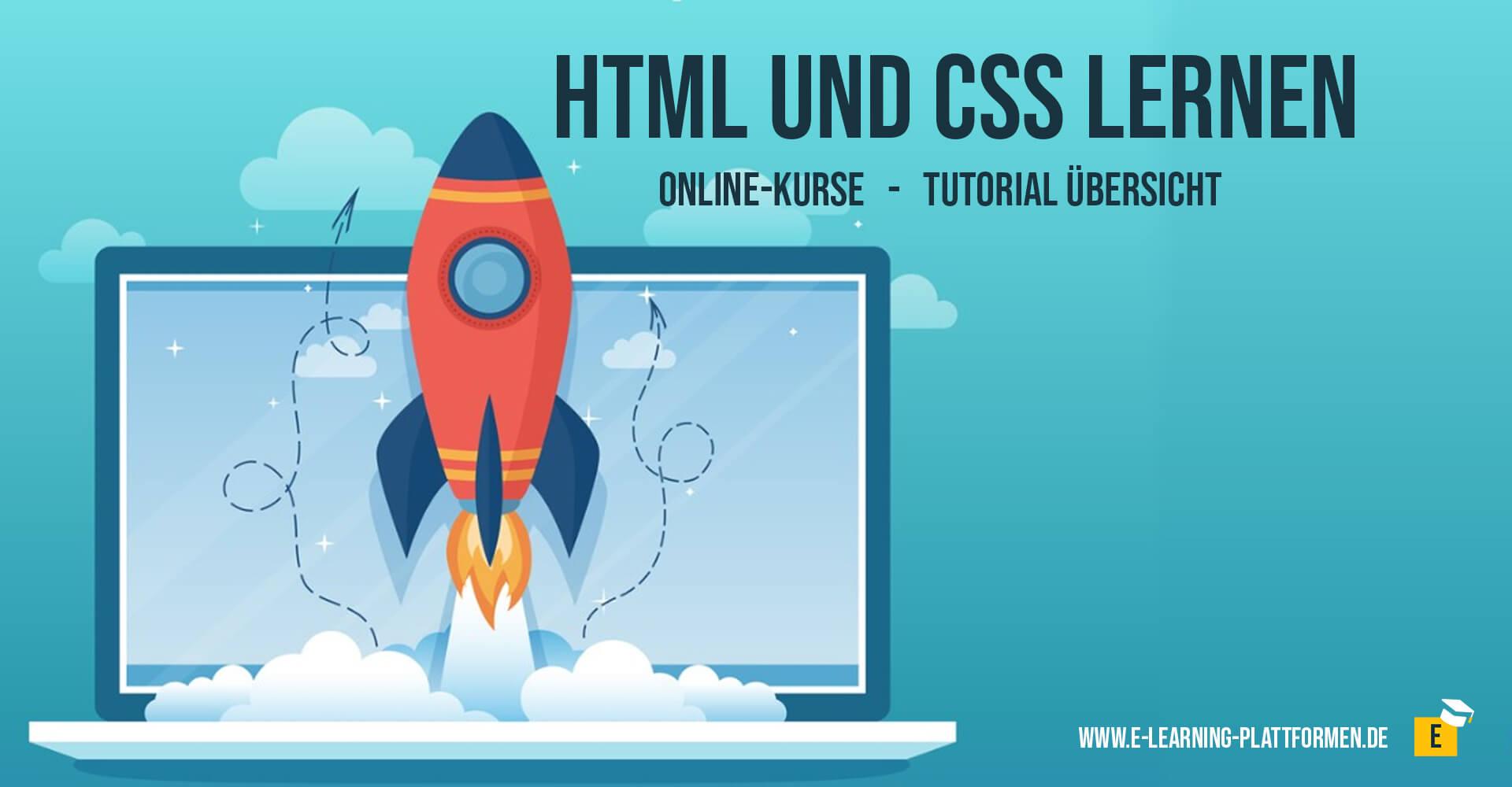 HTML und CSS online lernen tutorials und online-kurse