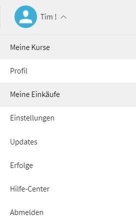 Coursera kündigen Anleitung Screenshot