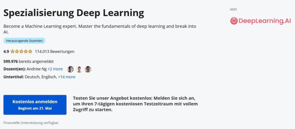 Coursera Spezialisierungen kosten